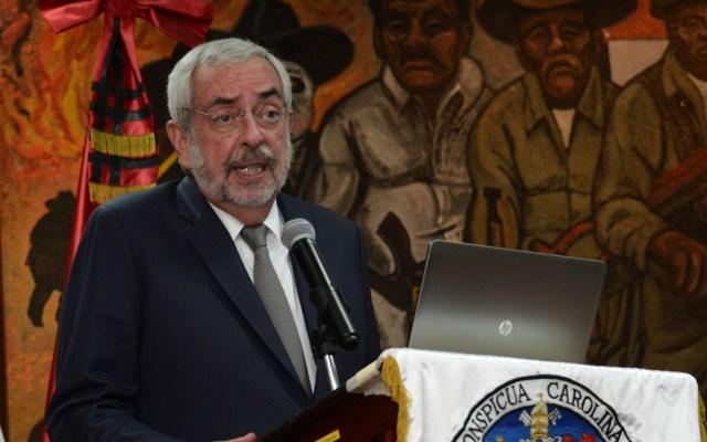 Sánchez Cordero felicita a Graue por su reelección - Foto de Notimex