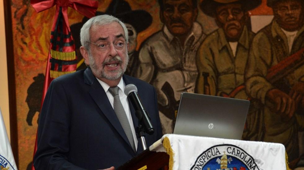Rector de la UNAM reduce su sueldo - Foto de Notimex