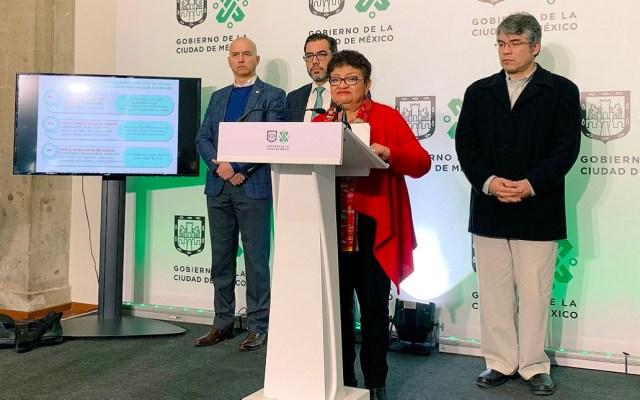 Gobierno capitalino anterior maquilló cifras delictivas: Ernestina Godoy - Ernestina Godoy en conferencia de prensa. Foto de @PGJDF_CDMX