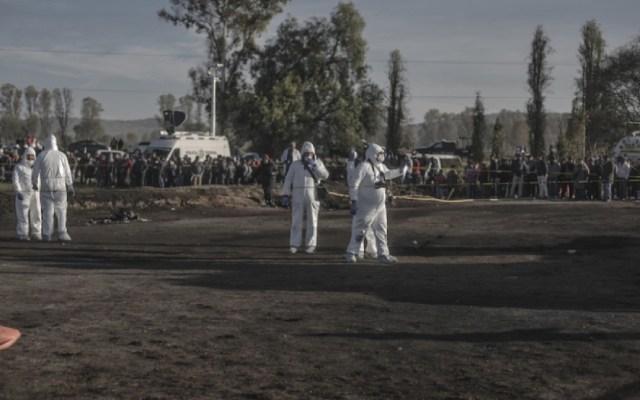 Se tienen contabilizados 91 muertos por explosión en ducto: Fayad - explosión ducto pemex fayad