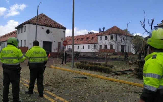 Explosión en escuela de policía en Colombia deja al menos ocho muertos - Explosion escuela de policías colombia