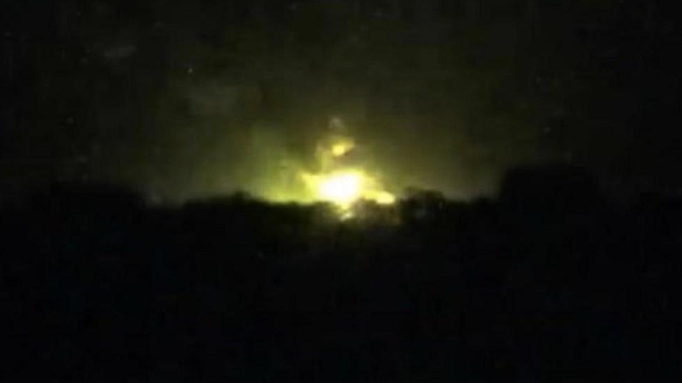Controlan incendio tras explosión en ducto de Pemex en Querétaro - Foto de Rotativo de Querétaro