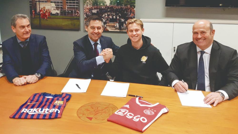 Frenkie de Jong elige al FC Barcelona - Foto de FC Barcelona