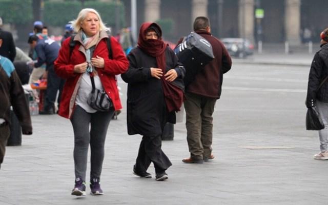 Frente frío 34 provocará bajas temperaturas y vientos en varias zonas del país - Foto de Notimex