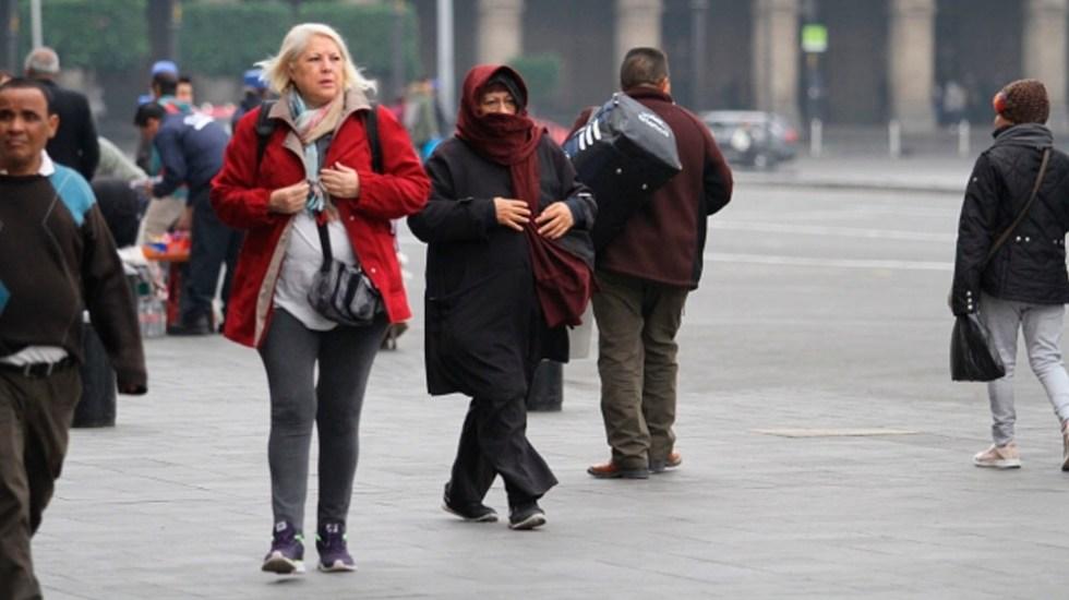 Frente frío provocará bajas temperaturas en gran parte del país - Foto de Notimex