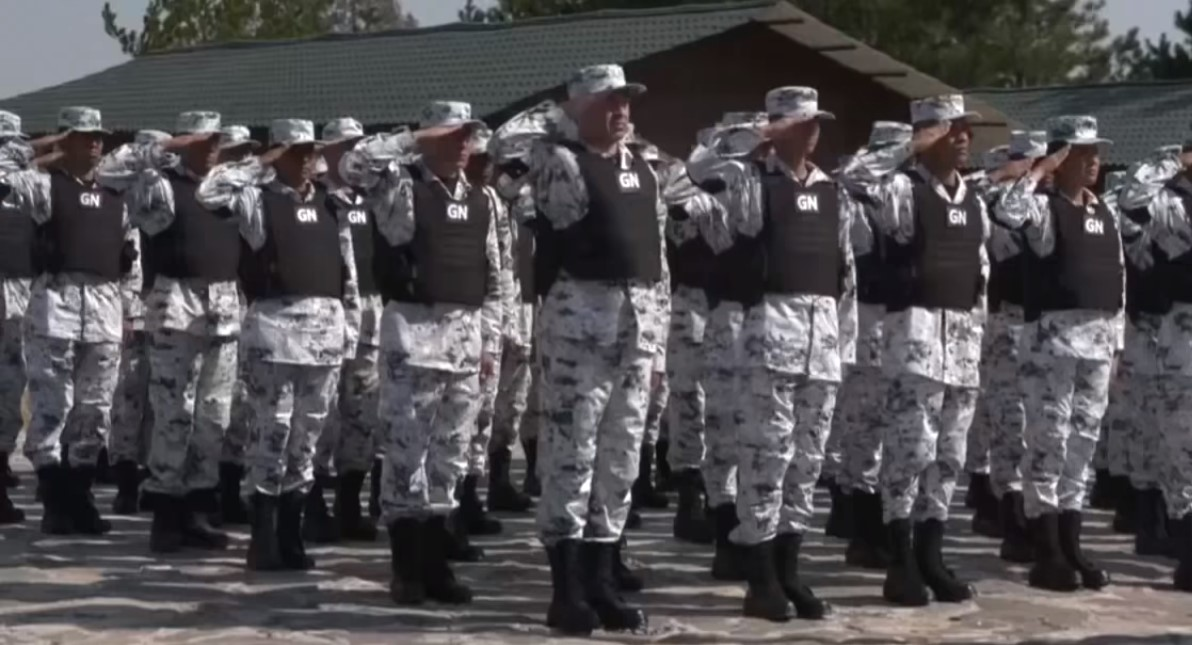 Guardia Nacional. Captura de pantalla