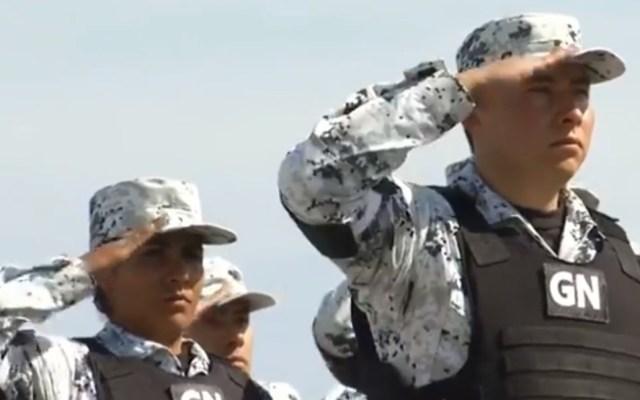 Gobierno federal pide que Guardia Nacional tenga un mando civil - Guardia Nacional. Captura de pantalla