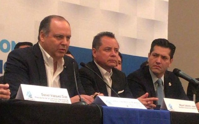 """Coparmex lamenta estrategia """"dañina"""" contra el robo de combustibles - Gustavo de Hoyos sobre desabasto. Foto de @garzamarin"""