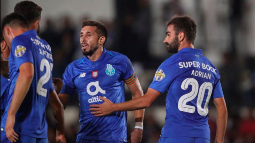 Héctor Herrera anota en la Copa de Portugal - gol de héctor herrera
