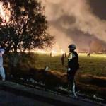 Explosión de toma clandestina deja al menos 20 muertos en Hidalgo