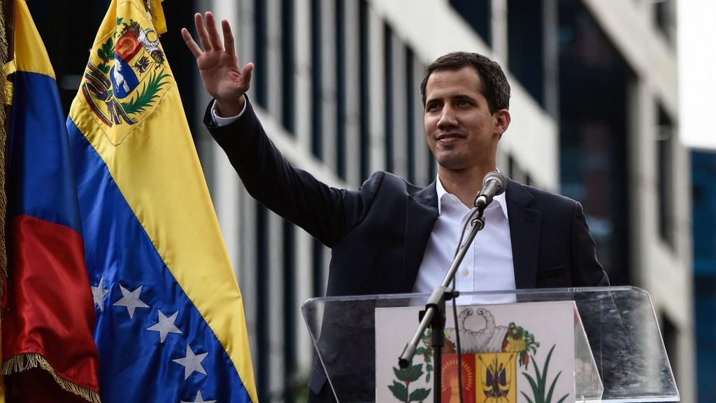 Países europeos reconocen a Guaidó como presidente de Venezuela - Juan Guaidó. Foto de AFP / Federico Parra