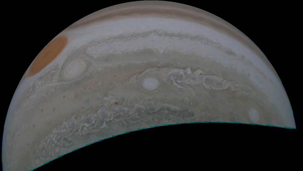 Gran Mancha Roja de Júpiter. Foto de NASA