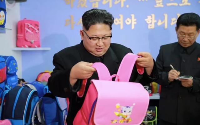 La nueva línea de ropa comestible de Kim Jong-un - Foto de The Sun