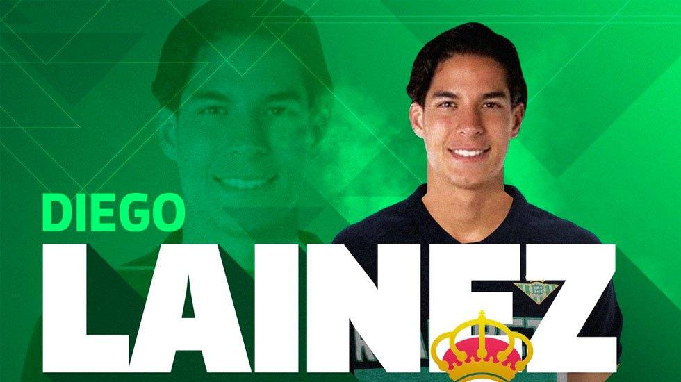 Diego Lainez nuevo jugador del Betis - Diego Lainez nuevo jugador del Betis
