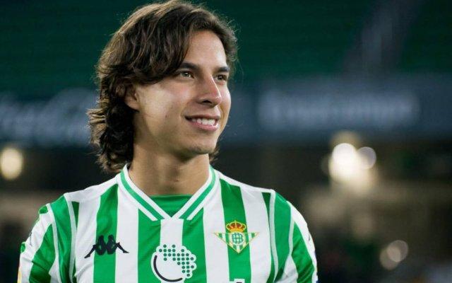 Diego Lainez debuta en triunfo liguero del Betis - Lainez debuta con el Betis