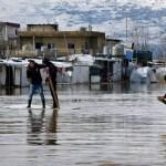 Mueren niña y su hermano en Líbano tras paso de tormenta Miriam - Foto de AP
