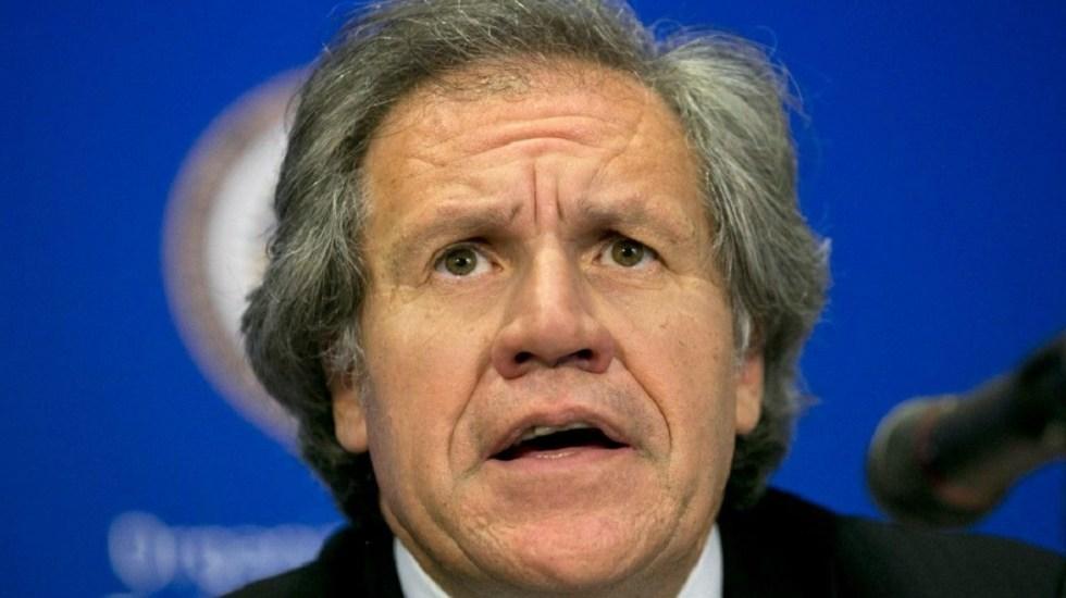 OEA condena intimidación a Juan Guaidó en Venezuela - Luis Almagro, secretario general de la OEA. Foto de Internet