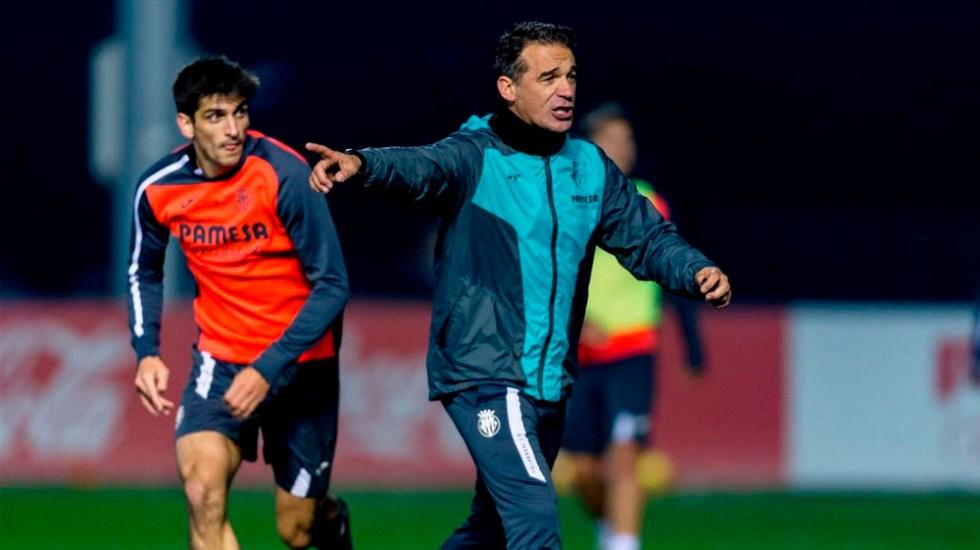 El Villarreal destituye al entrenador Luis García Plaza - Foto de @LuisGarciaPlaza