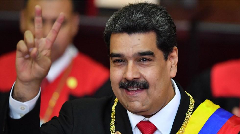 """#Video Maduro grita """"viva México"""" durante discurso de investidura - el vaticano justifica presencia en toma de posesión de maduro"""