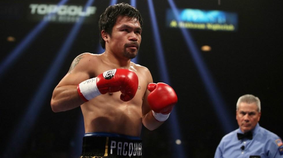 Lesión amenaza con terminar carrera de Manny Pacquiao - Foto de AFP