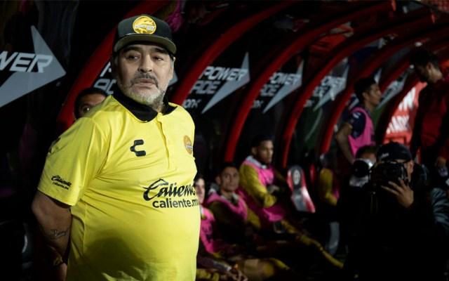Maradona consternado por la desaparición del futbolista Emiliano Sala - Foto de Notimex