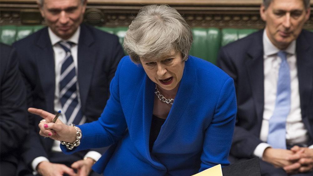 Theresa May pide a la UE un impulso más al acuerdo del Brexit - Foto de AP