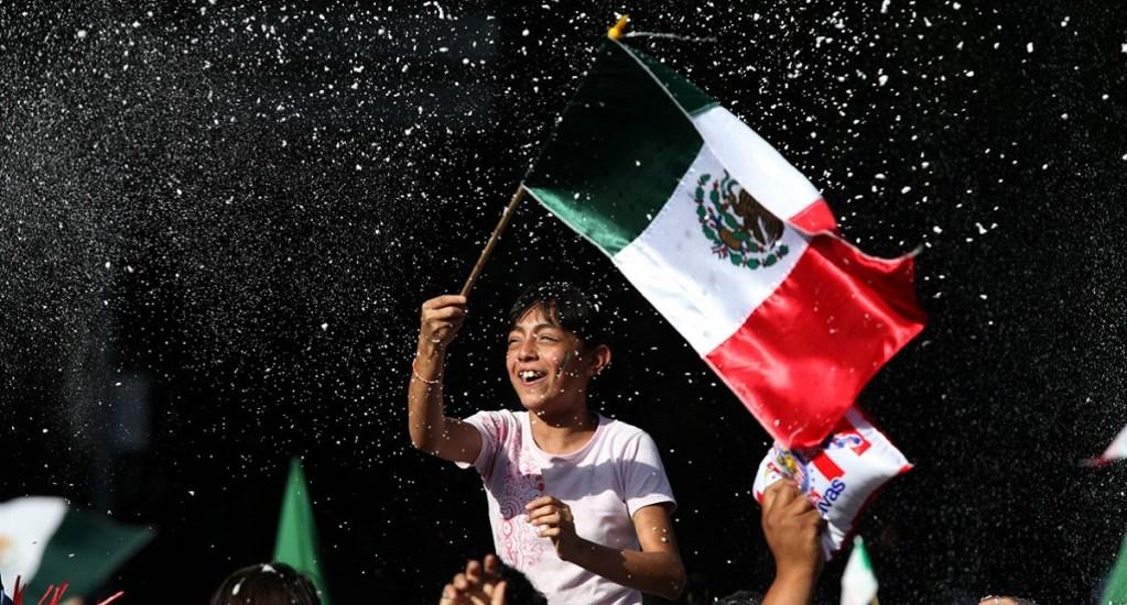 México es el cuarto país más feliz de América Latina - Mexicana feliz. Foto de Internet
