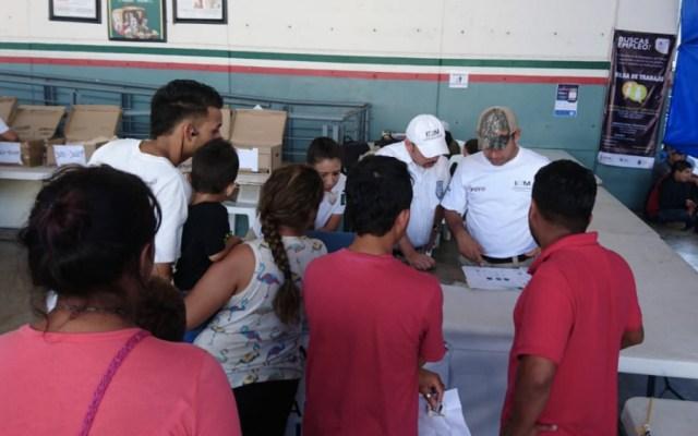 No estamos preparados para recibir a migrantes que tramitan asilo en EE.UU.: León Romero - Foto de @INAMI_mx