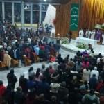 Ofrecen misa por muertos y heridos en Tlahuelilpan, Hidalgo - Foto de @BuzzFeedNewsMex