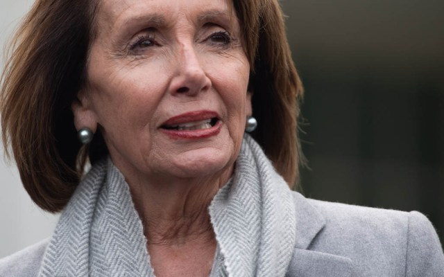 """No estoy a favor de un juicio político contra Trump"": Nancy Pelosi - Nancy Pelosi. Foto de AFP / Saul Loeb"