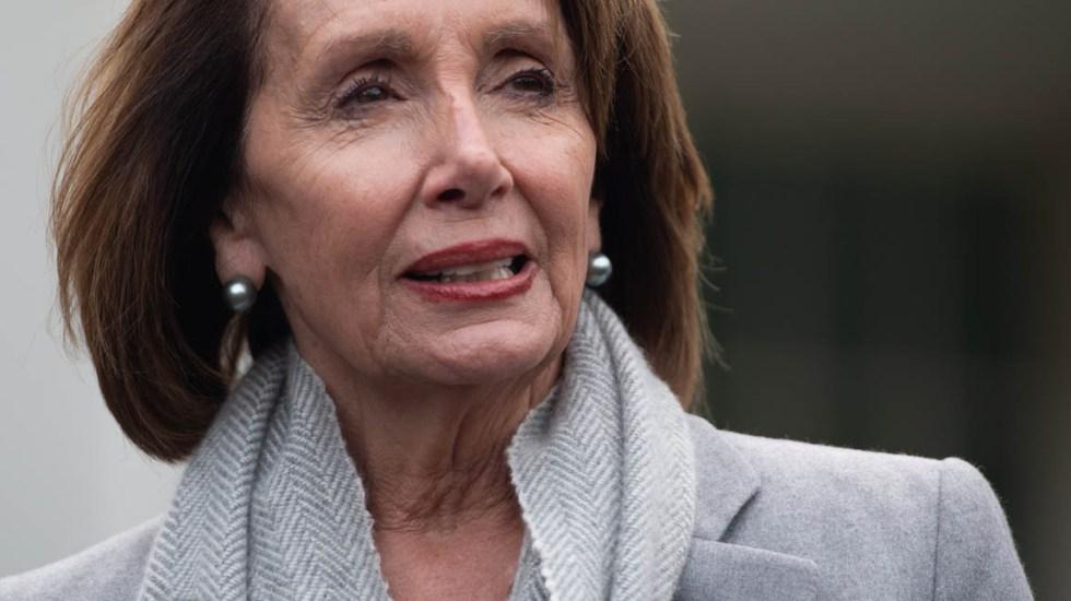 Pelosi pide a Trump posponer discurso por cierre parcial de Gobierno - Nancy Pelosi. Foto de AFP / Saul Loeb