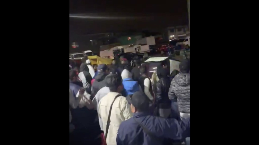 #Video Riña en gasolinera del Estado de México - Foto de captura de pantalla