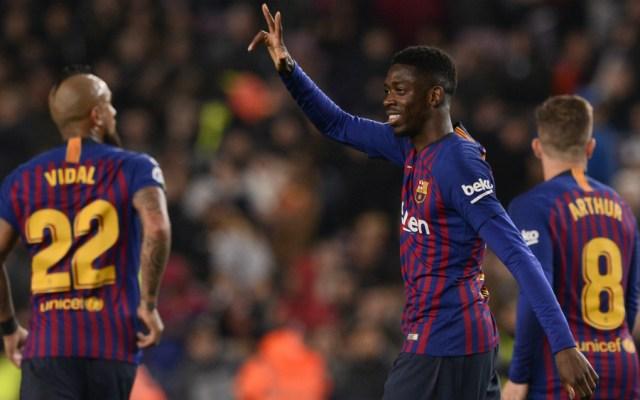 Barcelona convoca a Dembélé contra el Manchester United - dembélé entra en la convocatoria del barcelona para la champions