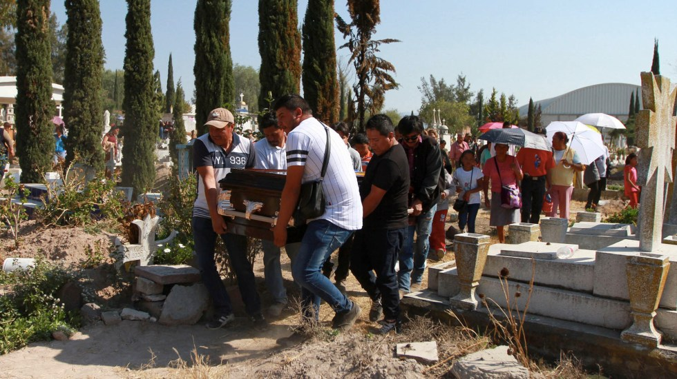 Tlahuelilpan expandirá su cementerio para enterrar a víctimas de explosión - cementerio