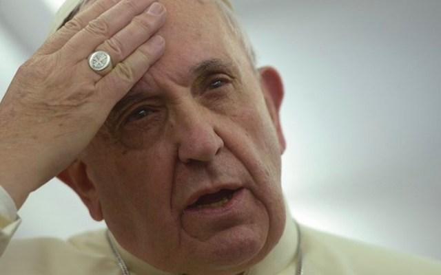"""Papa reconoce que la Iglesia está """"herida por su pecado"""" - Foto de Twitter"""