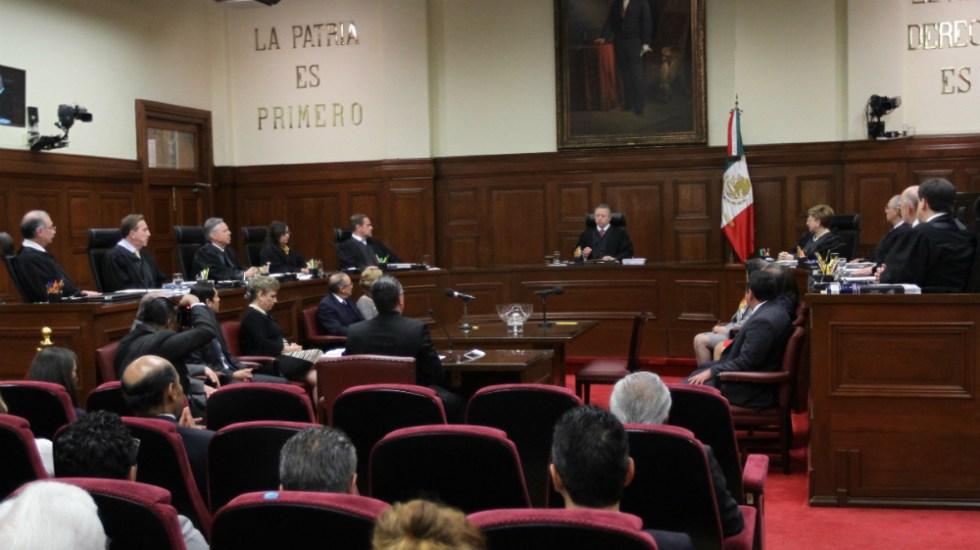 SCJN admite impugnaciones de legisladores contra 'superdelegados' - Foto de Notimex