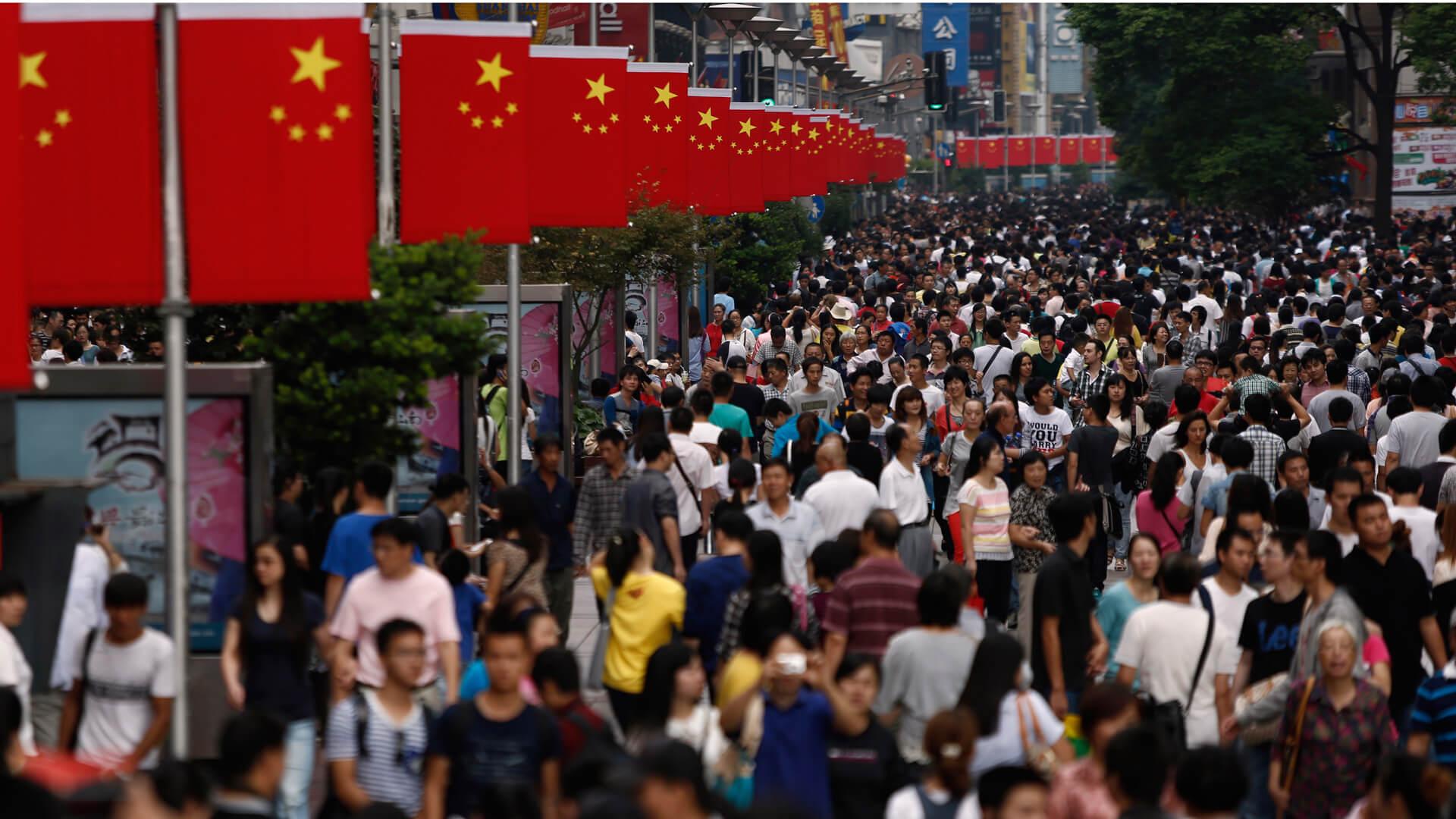 Población de China. Foto de Internet