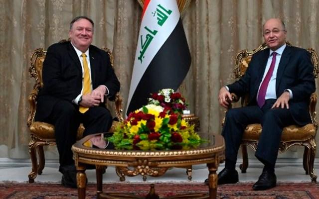Mike Pompeo realiza visita sorpresa a Irak - Foto de AFP