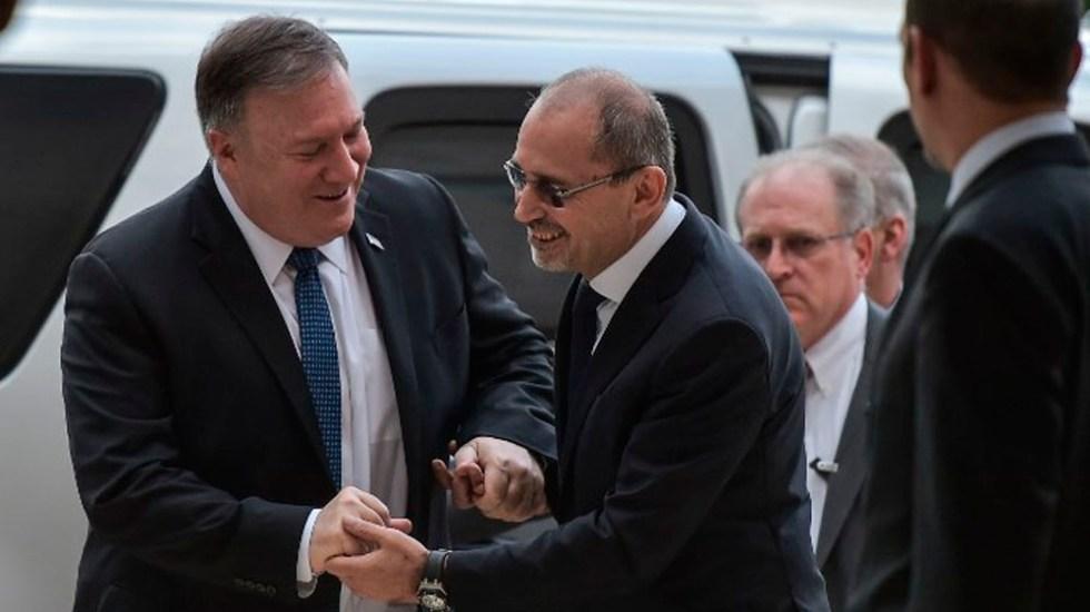 Pompeo inicia gira en Medio Oriente tras salida de tropas de Siria - Foto de AFP