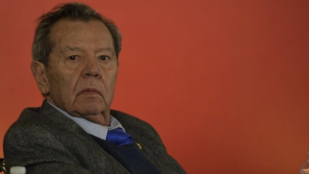 Muñoz Ledo asegura que está bien tras desmayo - Foto de @PMunozLedo