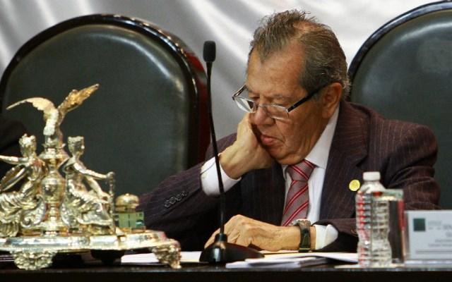 México ha tenido elecciones más torcidas que Venezuela: Muñoz Ledo - Porfirio Muñoz Ledo. Foto de Notimex
