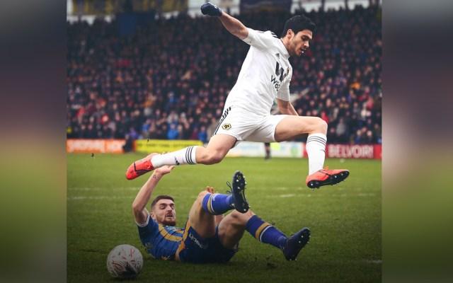 Gol de Jiménez da vida a los Wolves en la FA Cup - Foto de ESPN
