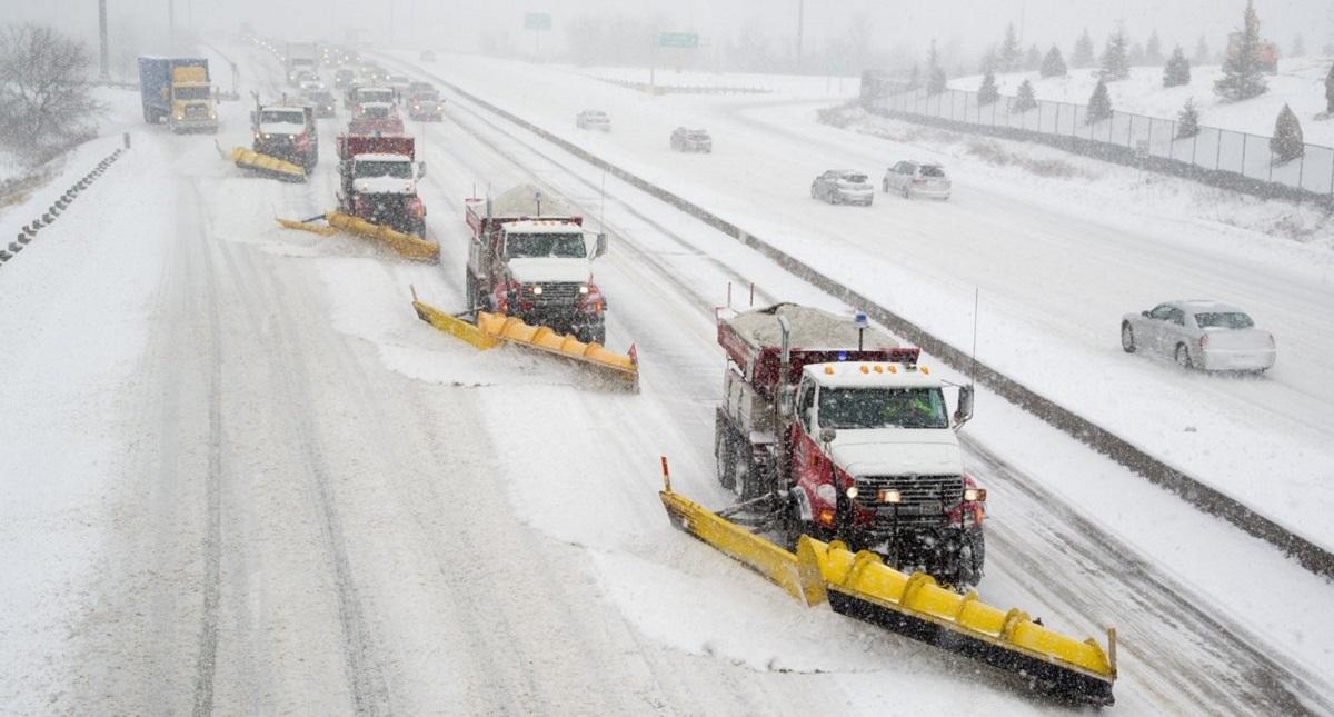 Remoción de nieve en Toronto. Foto de @cityoftoronto