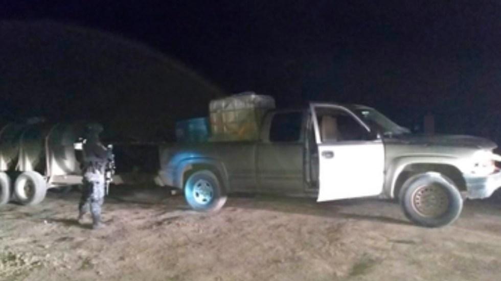 Aseguran más de 92 mil litros de hidrocarburo en Michoacán, Tamaulipas y Sonora - Foto de Policía Federal