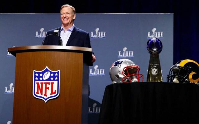 """Hicimos lo correcto"": Goodell sobre juego de NFL cancelado en México - Foto de AFP"