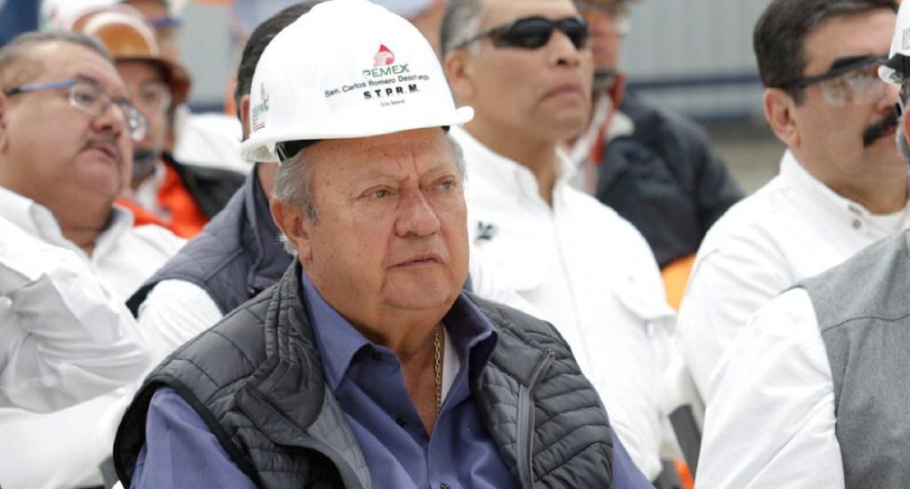 No existe denuncia contra Romero Deschamps: AMLO - romero deschamps denuncia lopez obrador