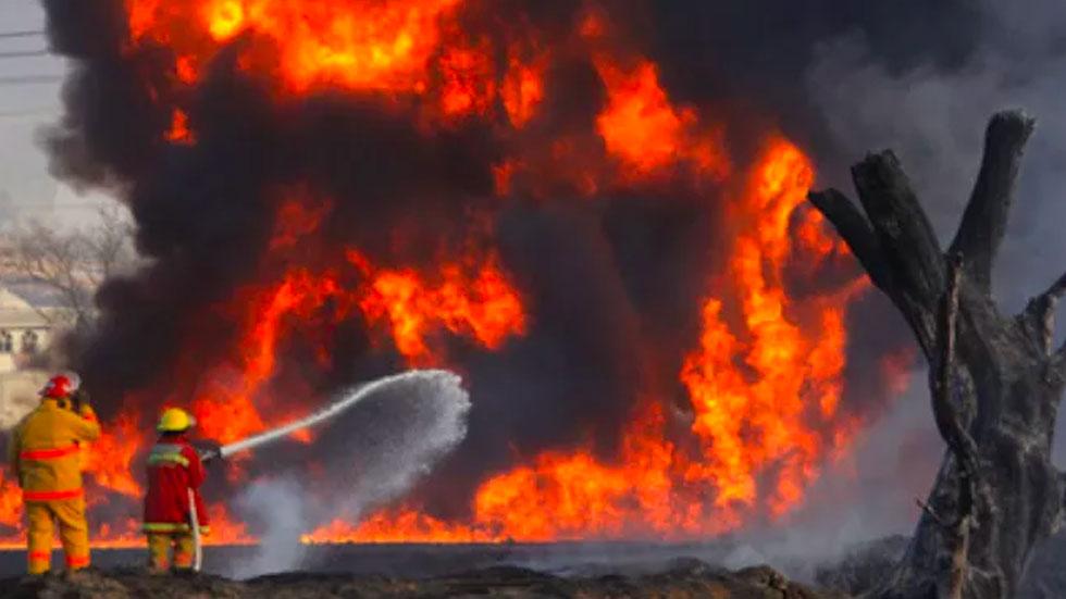 2010: la explosión de San Martín Texmelucan, Puebla - Foto de EFE