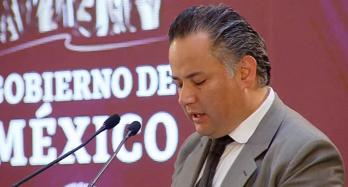 Santiago Nieto. Captura de pantalla
