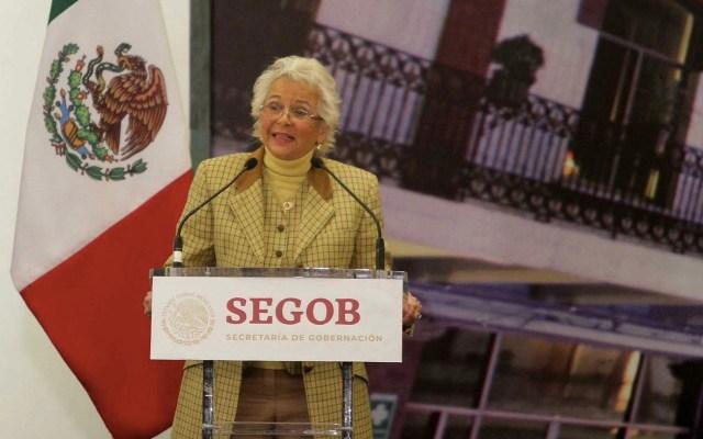 Sánchez Cordero presenta su declaración patrimonial - Olga Sánchez Cordero. Foto de Notimex