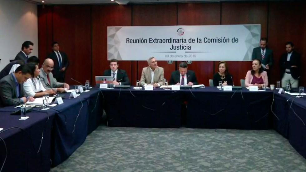 Comisión del Senado avala a candidatos a Fiscal General